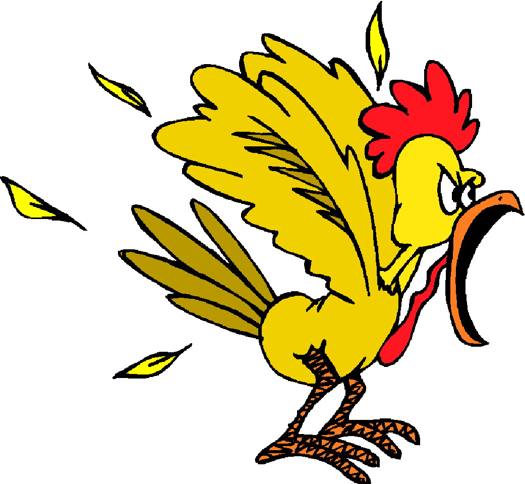 free clipart of cartoon chickens - photo #16