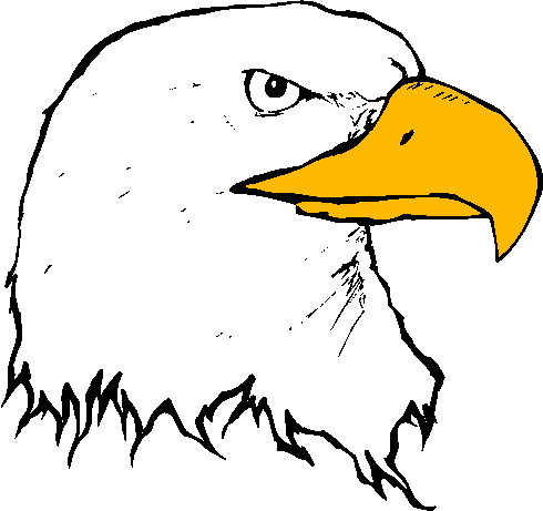 Free to share eagle head clipart | ClipartMonk - Free Clip ...
