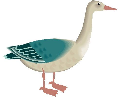 Geese clip art