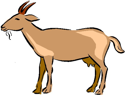 Clip Art - Clip art goats 553832