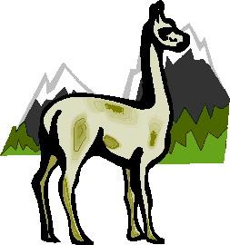 Lama clip art