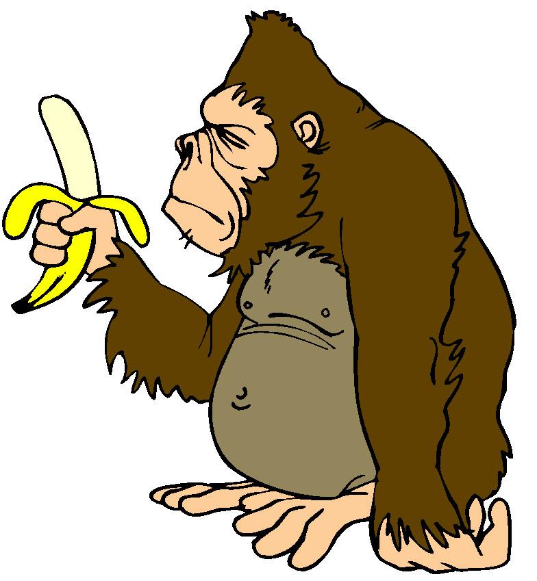 Clip Art Monkeys 125419