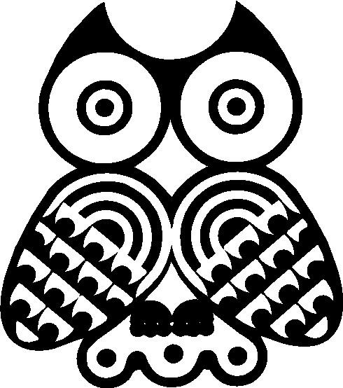 Owls clip art