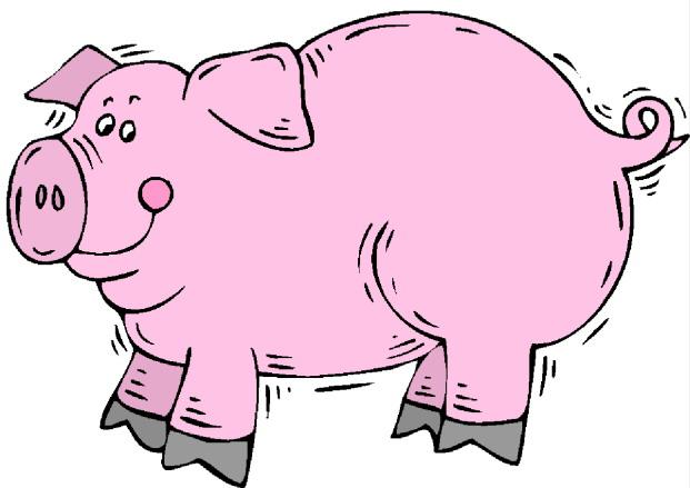 Clip Art Clip Art Pigs 534174