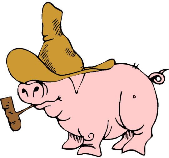 clip art funny pigs - photo #40
