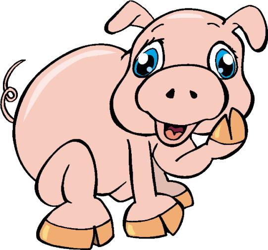 Clip Art - Clip art pigs 934254