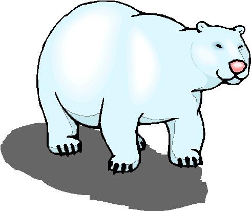 Clip art 187 polar bears clip art