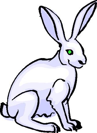 Rabbits clip art