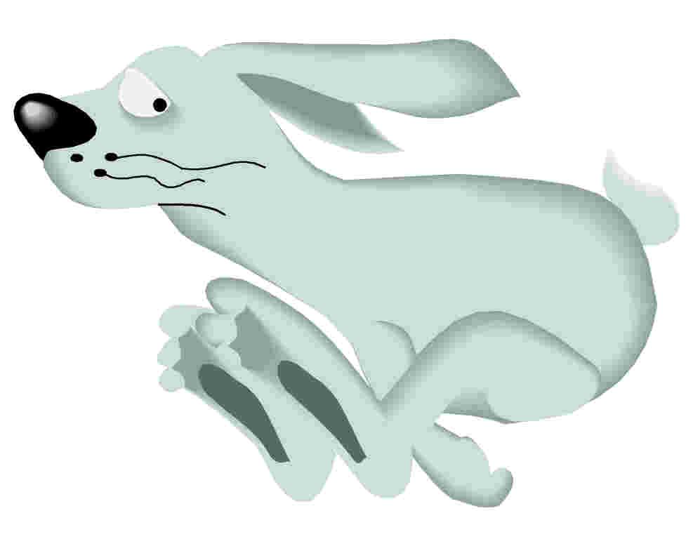 Clip Art - Clip art rabbits 660992