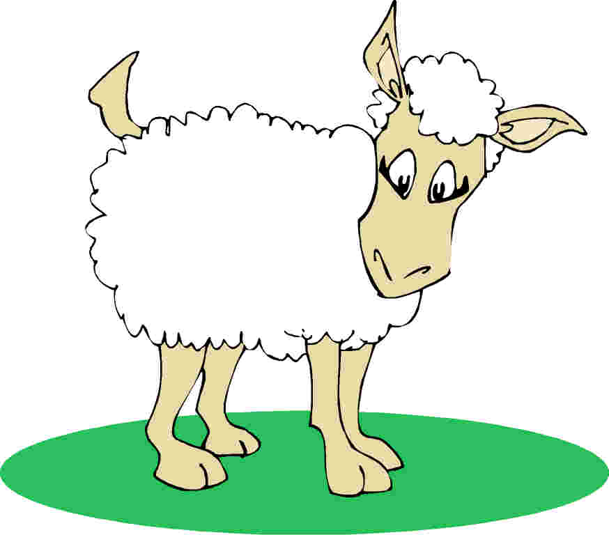 clipart of jesus with sheep - photo #40