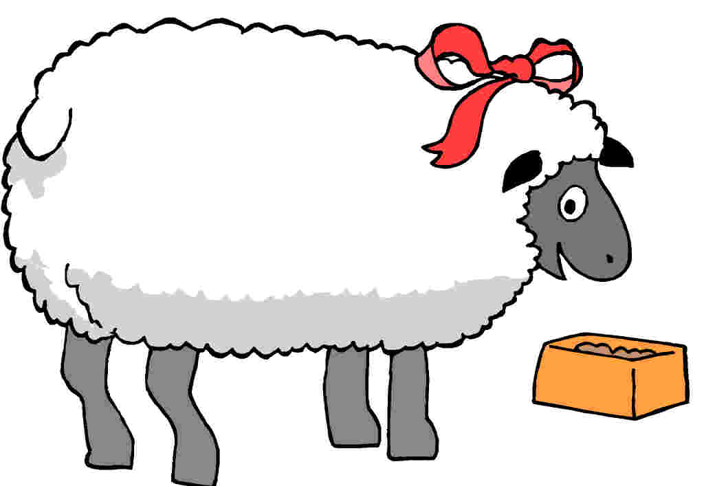 Free to Use & Public Domain Sheep Clip Art