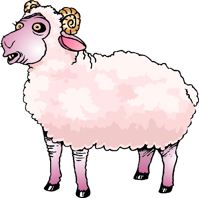 clipart of jesus with sheep - photo #37