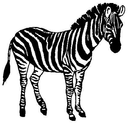 Clip Art - Clip art zebras 692459