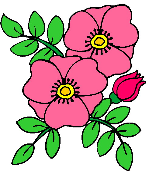 clipart trees and flowers - photo #29