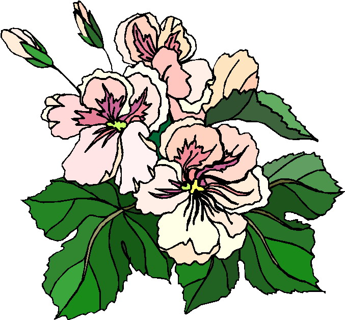clipart trees and flowers - photo #23