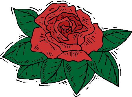 Roses clip art