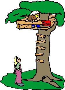 Treehouse clip art