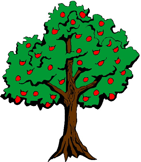 Clip Art Flowers And Plants Trees