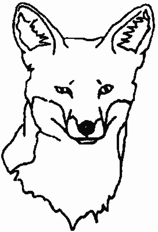 Good Coloring Pages Animal Coloring Pages Fox