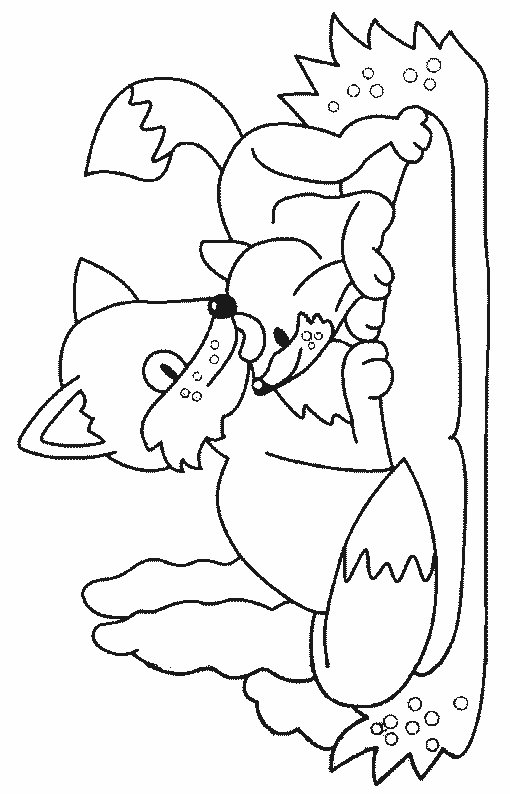 g fox co coloring pages - photo #10