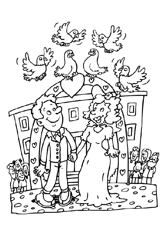 Coloring pages Pigeon Animal coloring pages