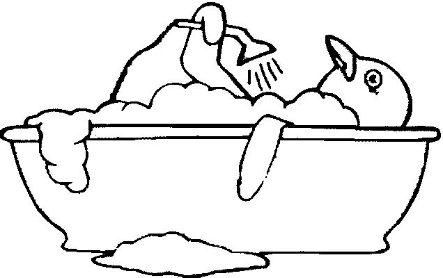 coloring pages bathtubs - photo#16