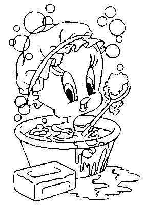 Bath Coloring Page Picgifs Com