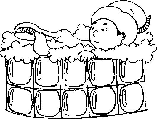 l bath time coloring pages - photo #35