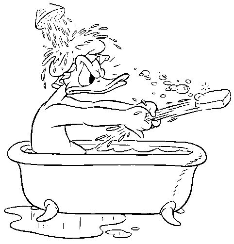 coloring pages bathtubs - photo#40