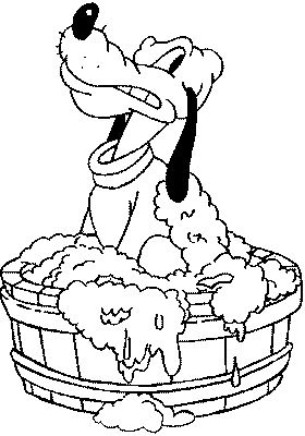 Bath coloring pages