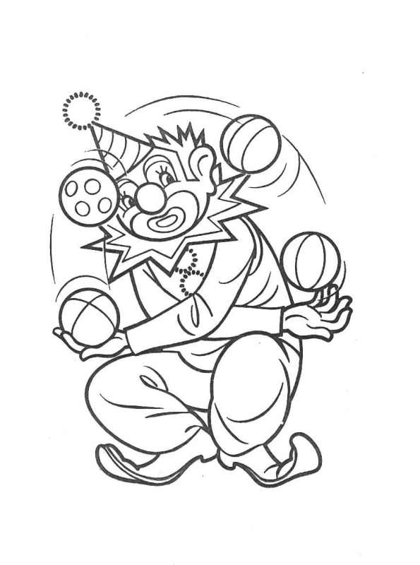Pin by Zee Ri-Gon on Circus FUN! | Carnival crafts, Clown crafts ... | 800x595