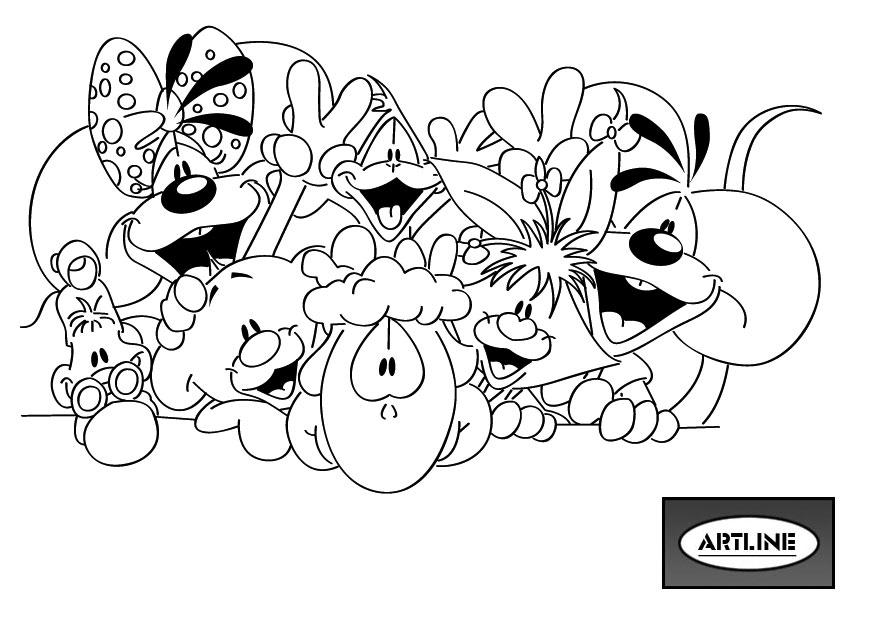 coloring page diddl coloring pages 13