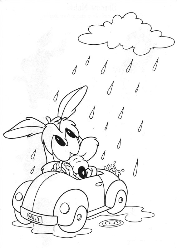 Baby Looney Tunes Coloring Page Disney Coloring Page | PicGifs.com