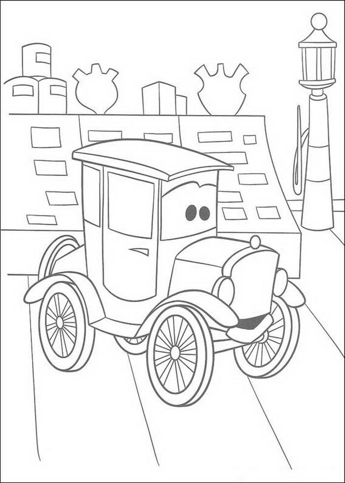 cars coloring pages mack - photo#48