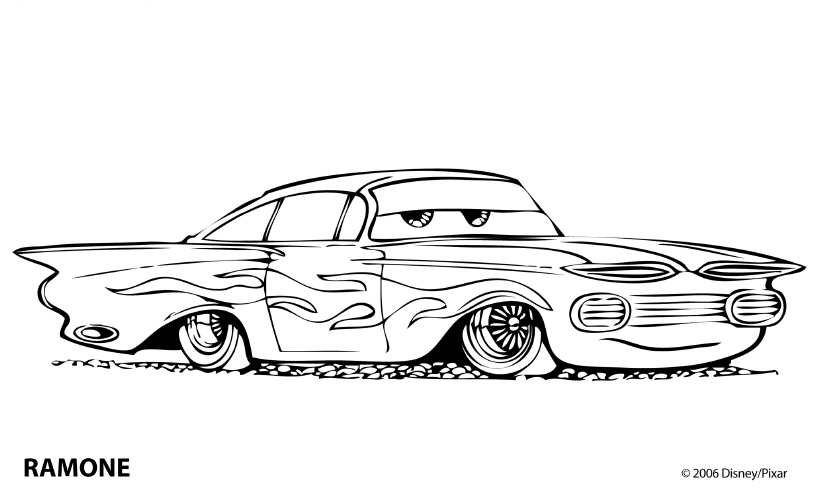 cars coloring pages - Car Coloring Pages