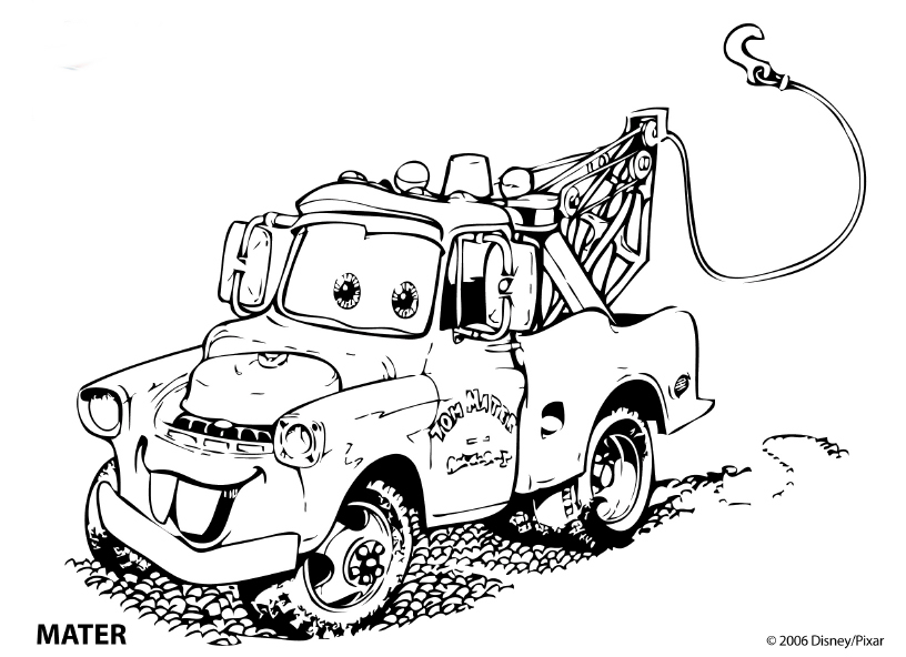 Cars Coloring pages Disney coloring pages