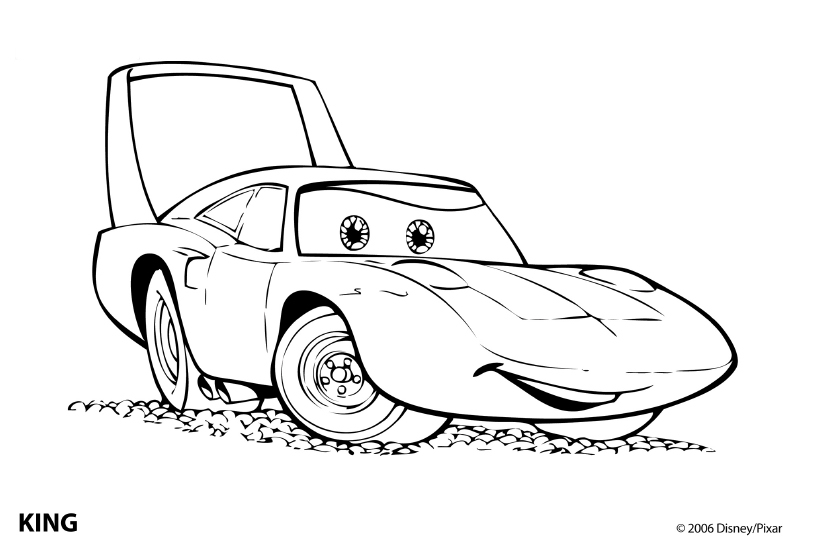 All Car Coloring Pages : Cars coloring page disney picgifs