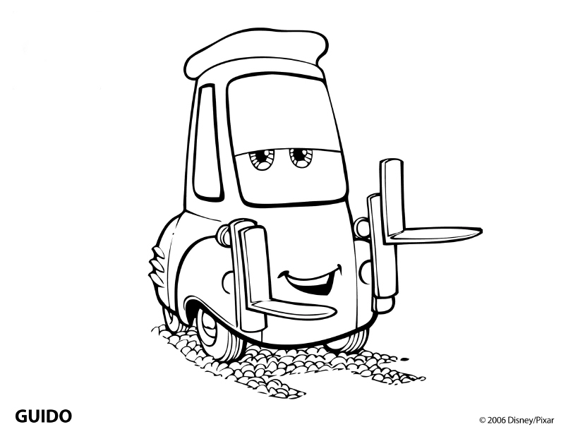 Cars Coloring Page Disney Coloring Page | PicGifs.com