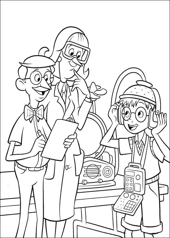 Meet the robinsons coloring pages