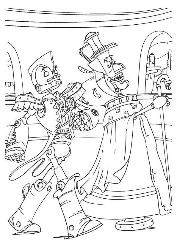 coloring pages disney coloring pages robots - Coloring Page Robot