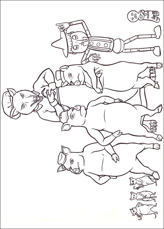 shrek forever after coloring pages - photo#13