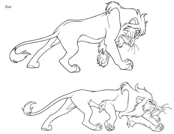 Coloring Page The lion king coloring