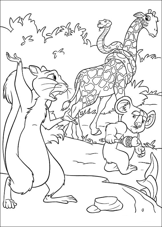 disneys the wild coloring pages - photo#7