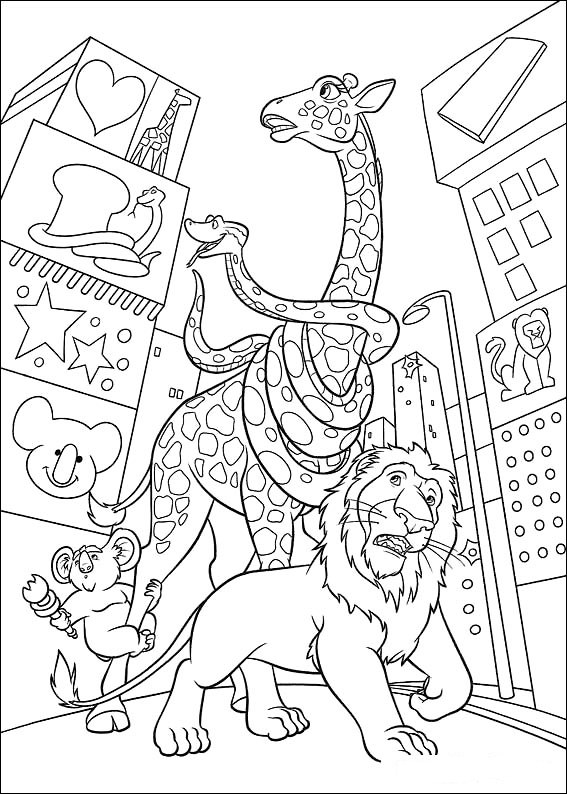 disneys the wild coloring pages - photo#16
