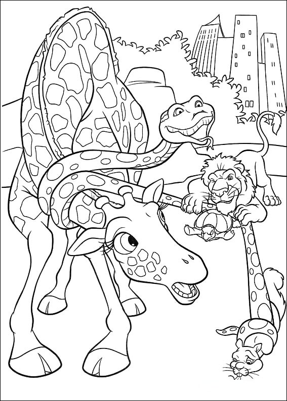 disneys the wild coloring pages - photo#2