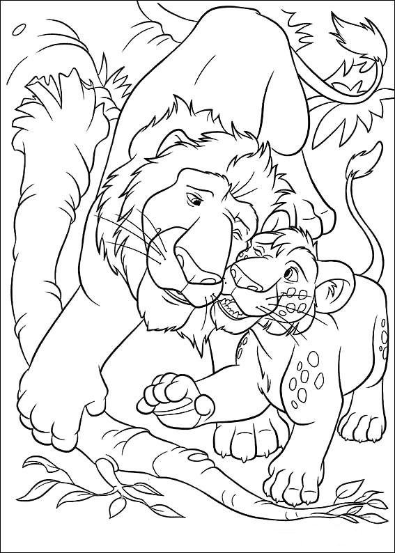 disneys the wild coloring pages - photo#15