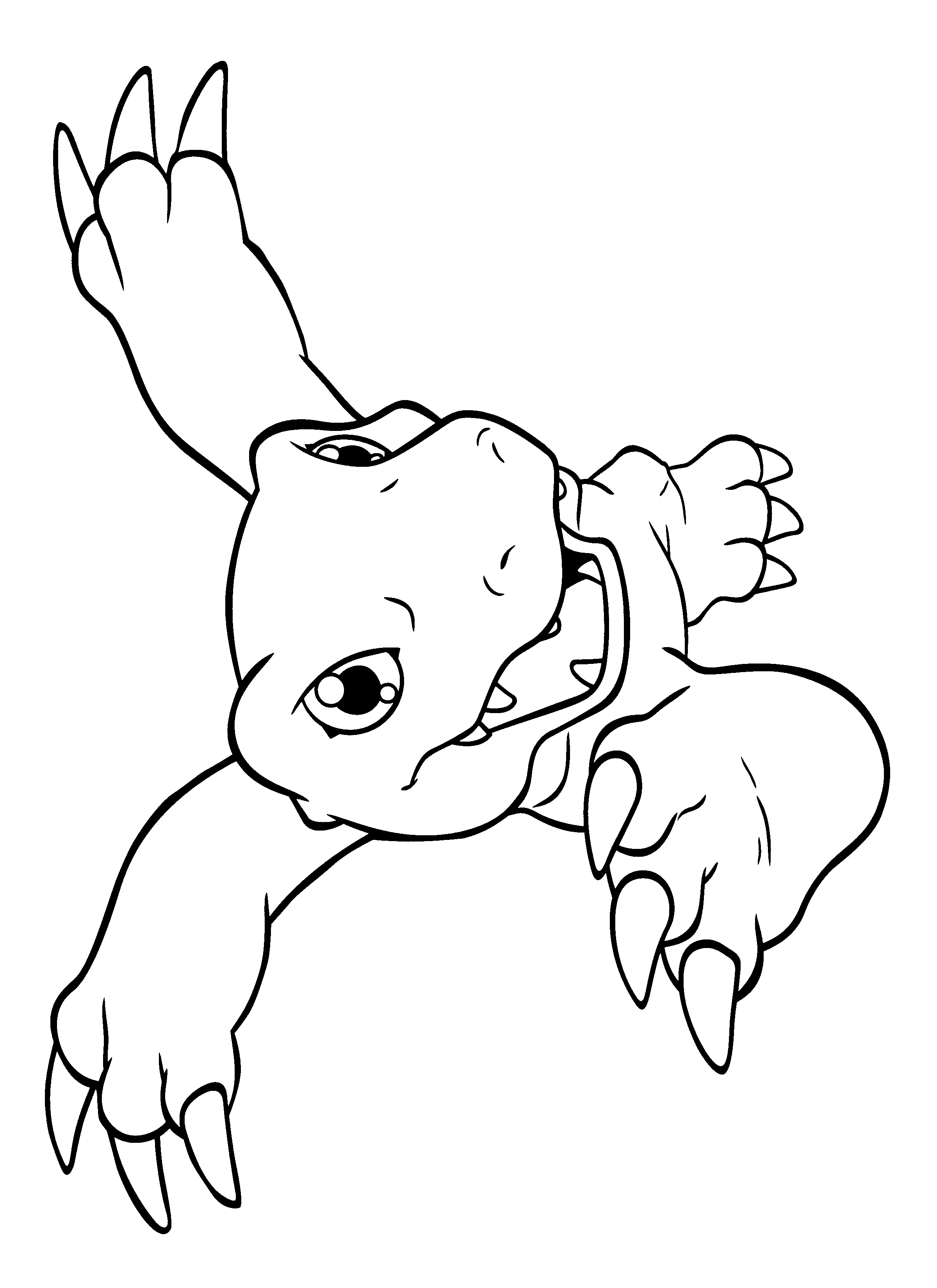 Free Coloring Pages Of Digimon 44