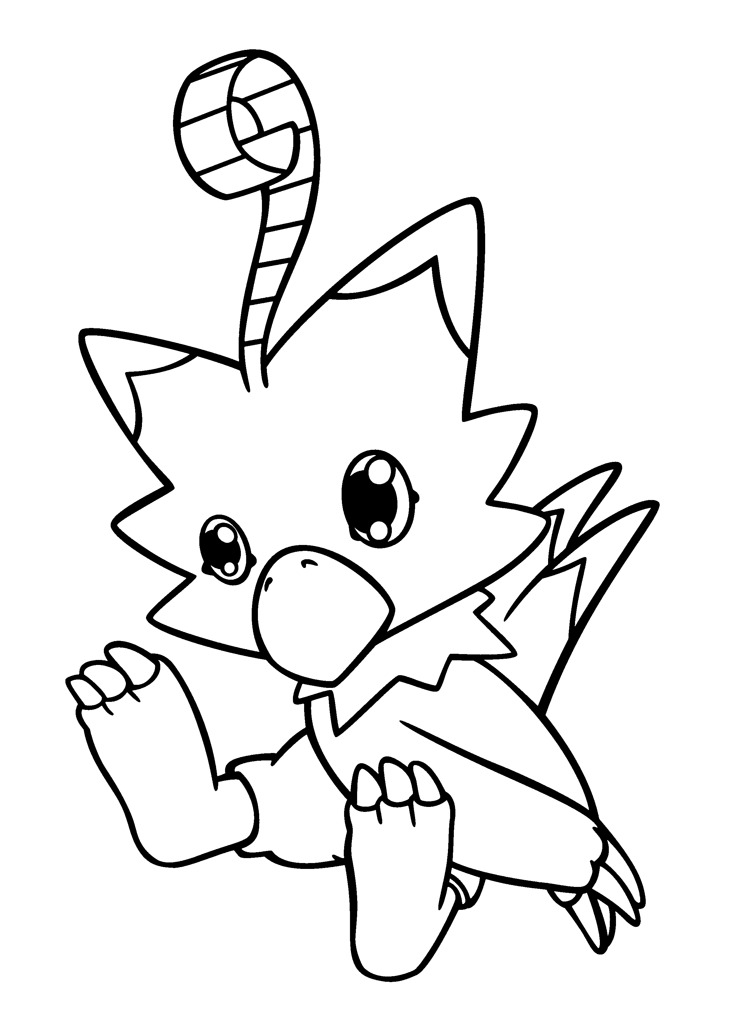 Dark Digimon Coloring Pages Coloring Pages