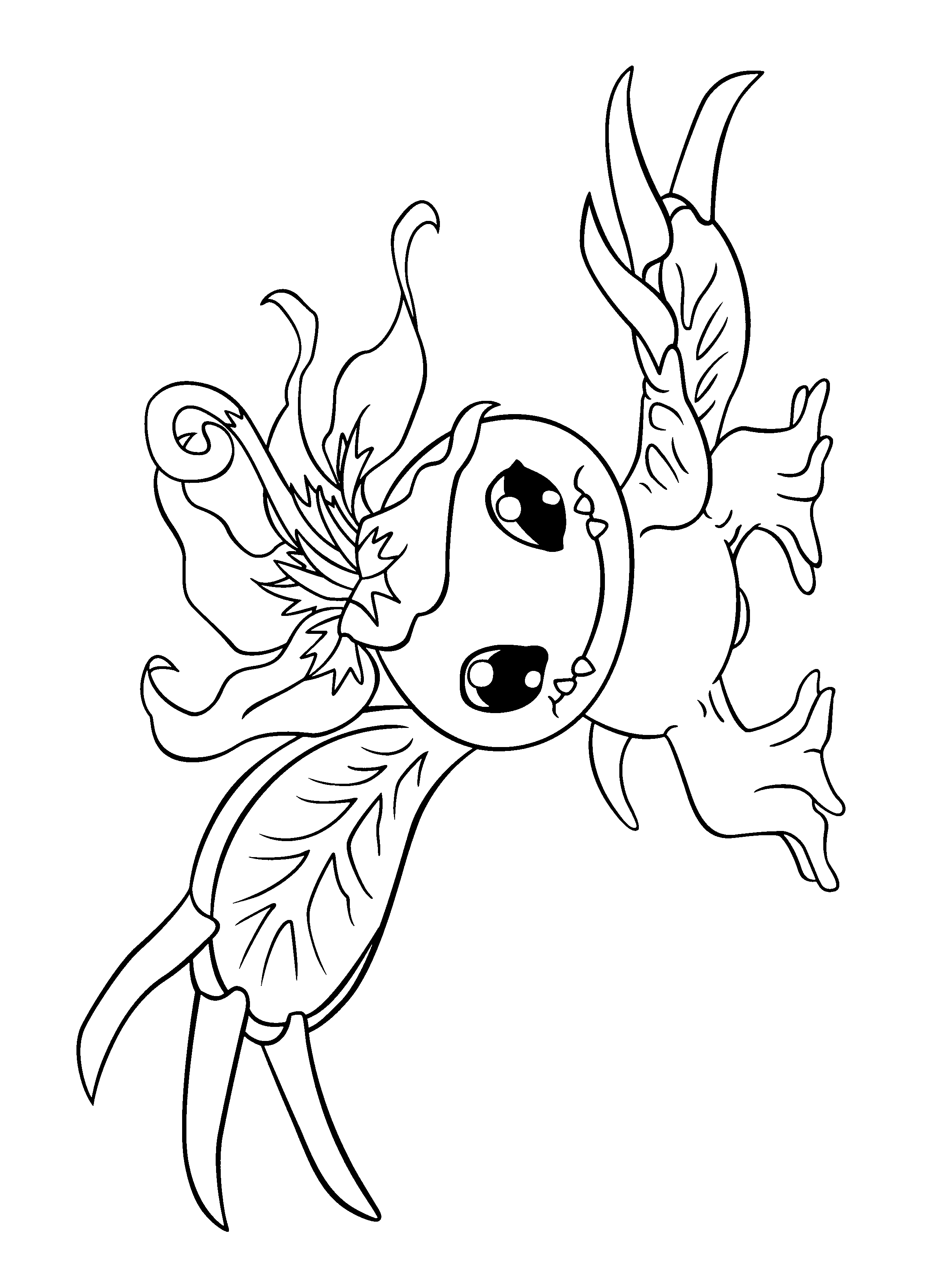 Coloring Page Digimon coloring