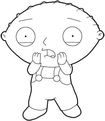 coloring page family guy coloring pages 3